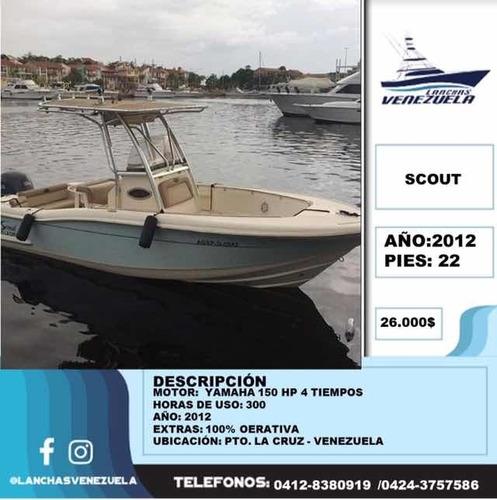 Lancha Scout 22 Lv178