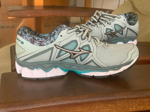 Mizuno Wave Sky 2 - Zapatillas De Running Para Mujer