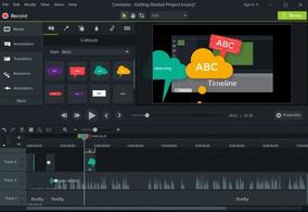 Programa Camtasia Studio 2018 - Licença Permanente 64 Bit