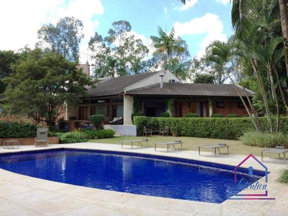 Casa Com 4 Dormitórios À Venda, 600 M² Por R$ 3.200.000,00 - Jardim Mediterrâneo - Cotia/sp - Ca0413