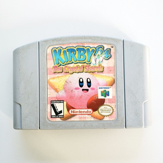 Kirby 64 The Crystal Chards Original N64 Nintendo 64