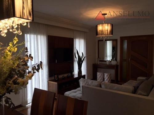 Apartamento Com 3 Dormitórios À Venda, 129 M² Por R$ 599.000,00 - Parque Das Nações - Santo André/sp - Ap1225