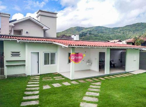 Imagem 1 de 30 de Casa Com 6 Dormitórios À Venda 430 M² Por R$ 1.930.000 - Itacorubi - Florianópolis/sc - Sc - Ca0108_feelin