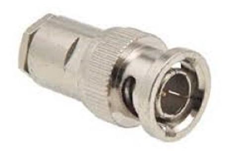 Imagem 1 de 3 de Conector Bnc Rg 58  Macho Para Cabo Coaxial Rg58  E Rgc58