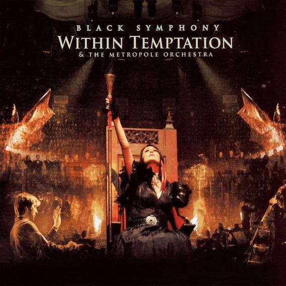 Dvd Within Temptation Black Symphony En Stock Musicanoba