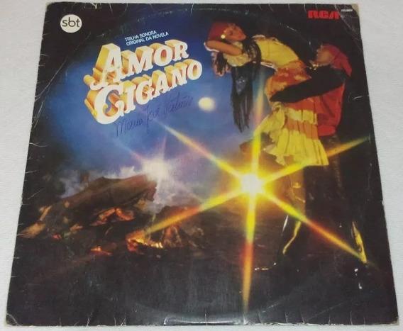 Lp Amor Cigano - Trilha Novela Sbt 1982 Perla Altemar Dutra