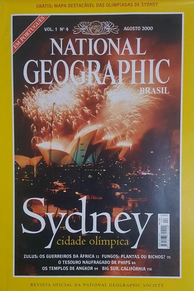 National Geographic Revista Agosto/2000 Sem Uso Frete 9
