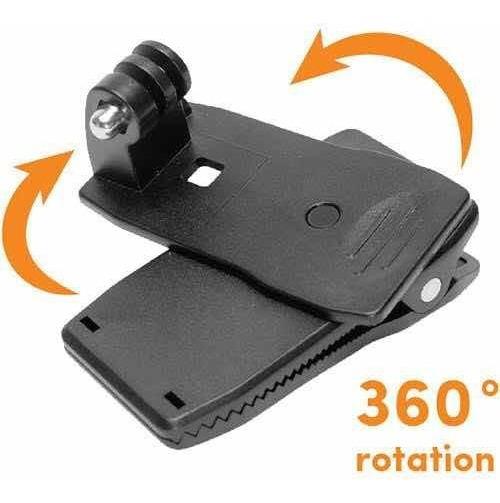 Suporte Pro Clip Com Rotação 360 P/câmeras Gopro Toda Linha