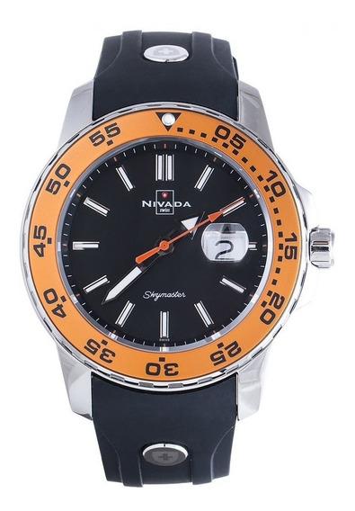 Reloj Nivada Skymaster Ng39971gacnoi Hombre Original