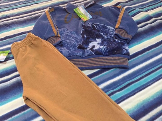 2 Conjuntos Blusa De Frio E Calça Menino - 1 Ano Novo Escolh