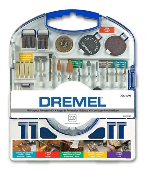 Kit Multiuso Dremel 709 - 110 Accesorios