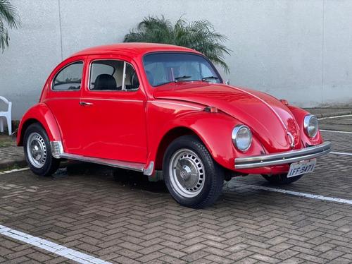 Vw - Fusca 1500 1974 C/ Som