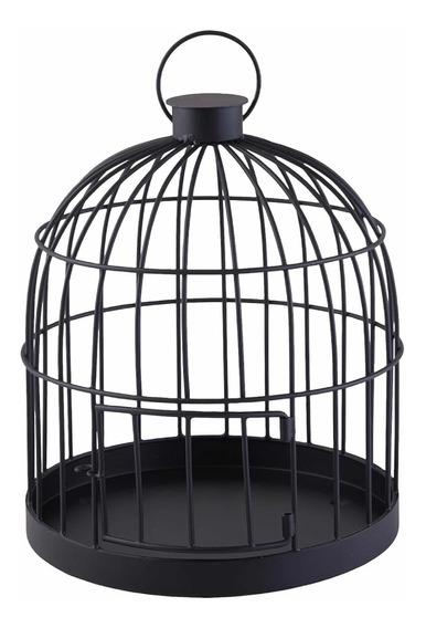 Jaula Decorativa Color Negro Black Cage Jaula Decorativa