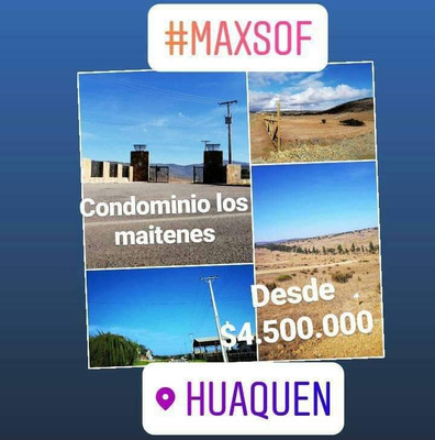 Terreno En La Playa Huaquen Y Pichicuy