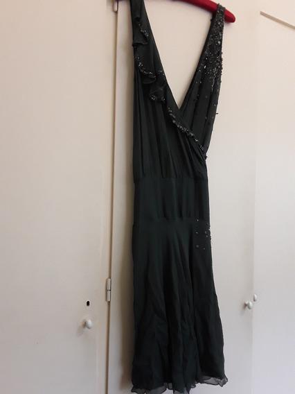 Vestido Sexy De Noche Bordado - Espectacular Precio $ 1490