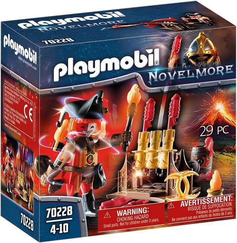 Playmobil Novelmore 70228 - Maestro De Fuego Bandido Burnham
