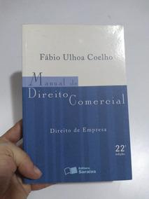 Manual De Direito Comercial- 22° Edição Fábio Ulhoa Coelho