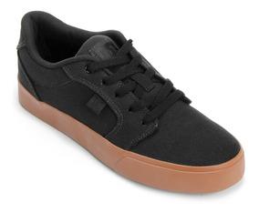 Tenis Dc Shoes Preto E Marrom Anvil La Tx Unissex Original