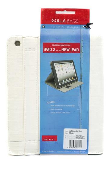 Capa Polyester Branco Apple iPad 2 New iPad G1325 Golla