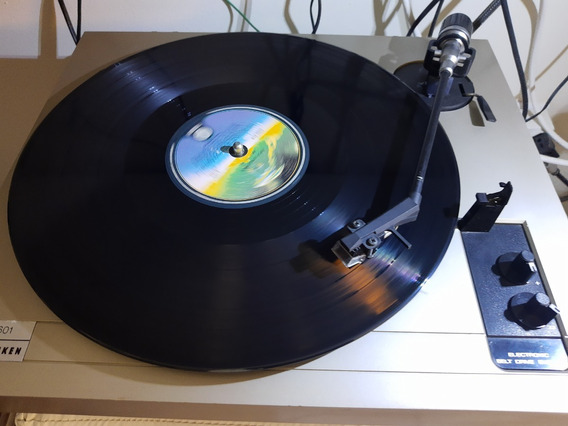 Toca Discos Telefunken Ps601 Strobobelt Drive-c/super Brinde