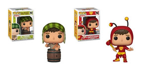 Funko Pop! Classico - Chaves - Chaves #751 - Chapolin #752