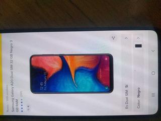 Celular Samsung A20 A20 32gb Y 3gb