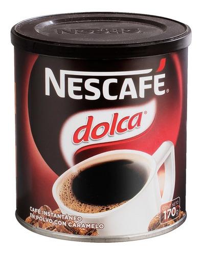 Nescafe Dolca 170gr (3 Unidades)