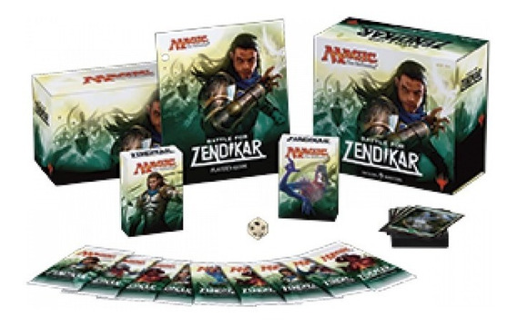 Battle For Zendikar Fat Pack Batalha Por Zendikar Mtg Selado