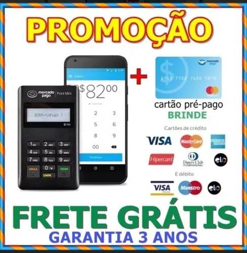 Imagem 1 de 9 de Máquina De Cartão De Credito Point Mercado Pago - Promoção