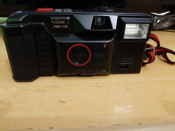 Câmera Fotográfica Yashica M D 135 - Testada E Funcionando