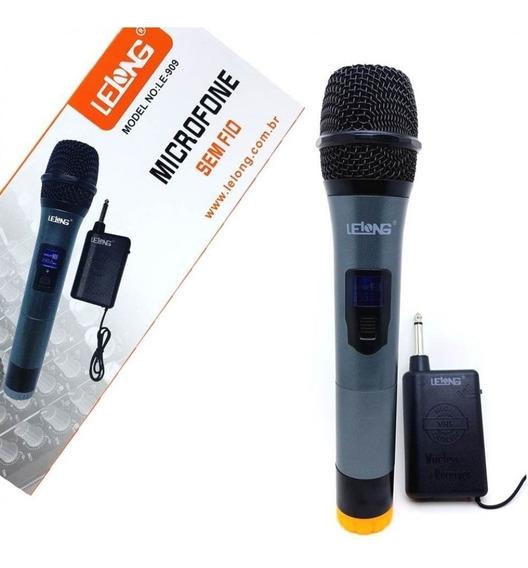 Microfone Profissional Sem Fio P/ Palestras Convenções Le909