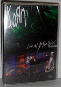Dvd Korn - Live At Montreux 2004 - Promoção Apenas 1 Un.