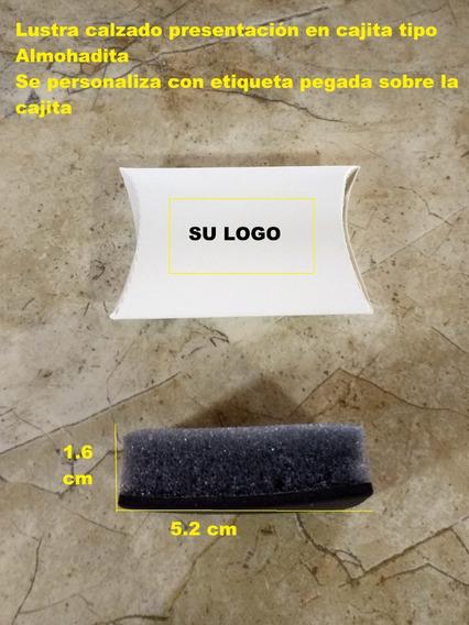Lustrador De Calzado Cuadrado Esponja 120 Pz,se Personaliza