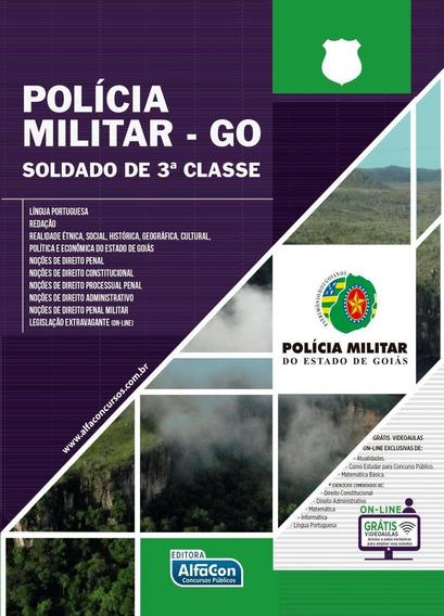 Polícia Miliar De Goiás (pm-go) - Soldado 3ª Classe