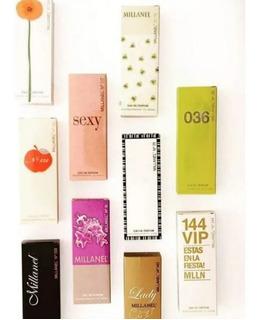 Perfumes Millanel 60 Ml. Fragancias Alternativas Femeninas