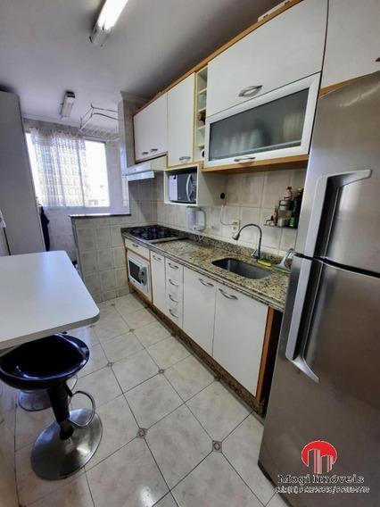 Apartamento Para Venda Em Mogi Das Cruzes, Cézar De Souza, 2 Dormitórios, 1 Banheiro, 1 Vaga - Ap444_2-1071114