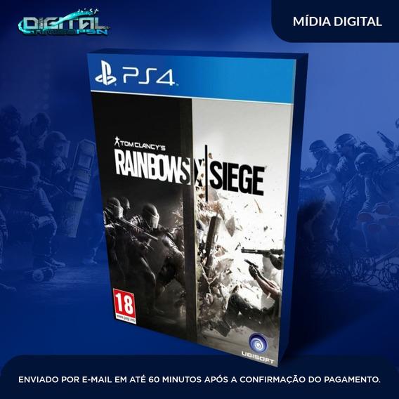 Tom Clancys Rainbow Six Siege Ps4 Envio 10 Minutos Original