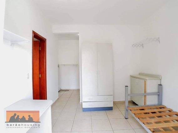 Kitnet Com 1 Dormitório Para Alugar, 20 M² Por R$ 1.700,00/mês - Cidade Universitária - Campinas/sp - Kn0713