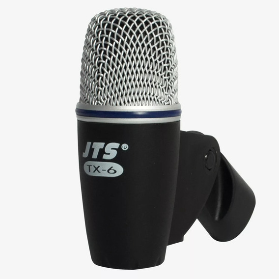 Microfone Jts Tx-6 P/ Tambores,tons, Percussão, Amplificador