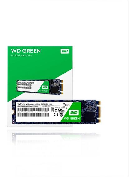 Disco Duro Solido (ssd) Wd Green Pc - 120 Gb - M.2 2280