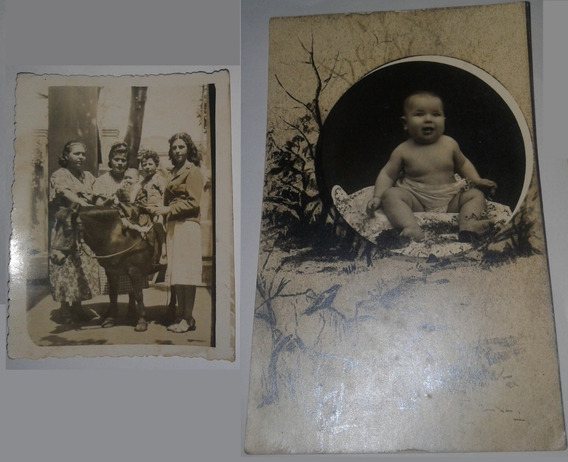 2 Tarjetas Postales Antiguas