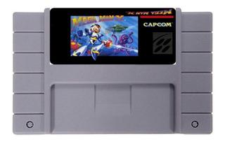 Megaman X Repro Snes Super Nintendo