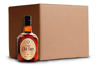 Caja Whisky Old Parr 12 Años Blended Escoces 0,75 Litros Lf
