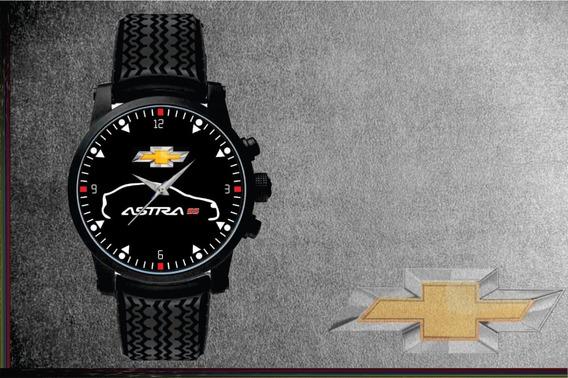 Relógio De Pulso Personalizado Chevrolet Gm Astra Ss Preto