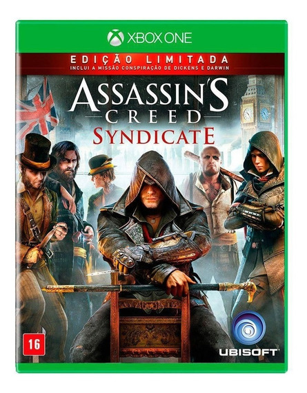 Assassins Creed Syndicate Ed Limitada- Midia Fisica Xbox One
