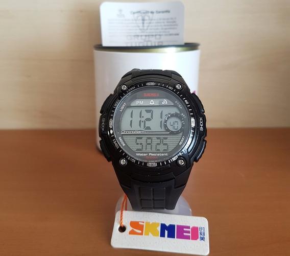 Relógio Skmei Tático 1203 Black Original - Queima De Estoque