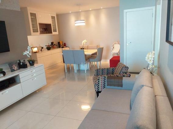 Apartamento Com 127m², Sendo 3 Quartos 1 Suite E Sala Com 2 Ambientes. - 691