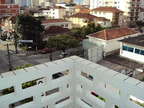 Apartamento Com 1 Dormitório À Venda, 50 M² Por R$ 235.000 - Embaré - Santos/sp - Ap8943
