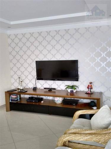 Casa Com 3 Dormitórios À Venda, 130 M² Por R$ 741.000,00 - Vila Valença - São Vicente/sp - Ca0158