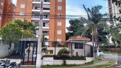 Apartamento Com 2 Dormitórios Para Alugar, 110 M² Por R$ 2.500/mês - Mansões Santo Antônio - Campinas/sp - Ap6024